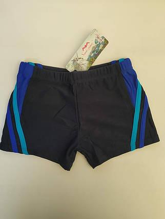 Плавки-шорты подросток SAME GAME 4936 синий (есть 40 42 44 46 48 размеры), фото 2