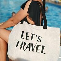 Пляжная сумка Beach Let's travel