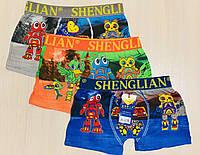 Дитячі трусики-боксери шортиками на хлопчика розмір XL на 6-8 років