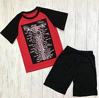 Комплект летний для мальчика шорты и футболка