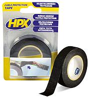 HPX Ізострічка тканин.19мм*10м чорн.TP1910