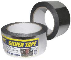HPX Скотч металізов.50мм*25м срібл. ST5025