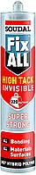 Кл/Герметик  FIX ALL HT INVISIBLE 290мл