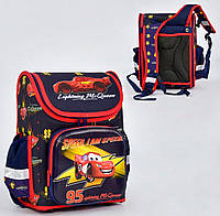Ортопедический каркасный рюкзак Молния Маккуин на 1 отделение и 3 кармана
