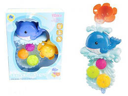 """Игрушка фонтанчик для ванной """"Кит"""" (Водяная мельница для купания детей)"""