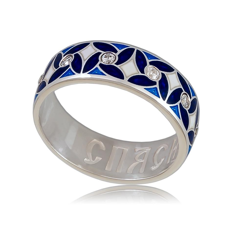 Кольцо с молитвой Спаси и сохрани (Ветерок)