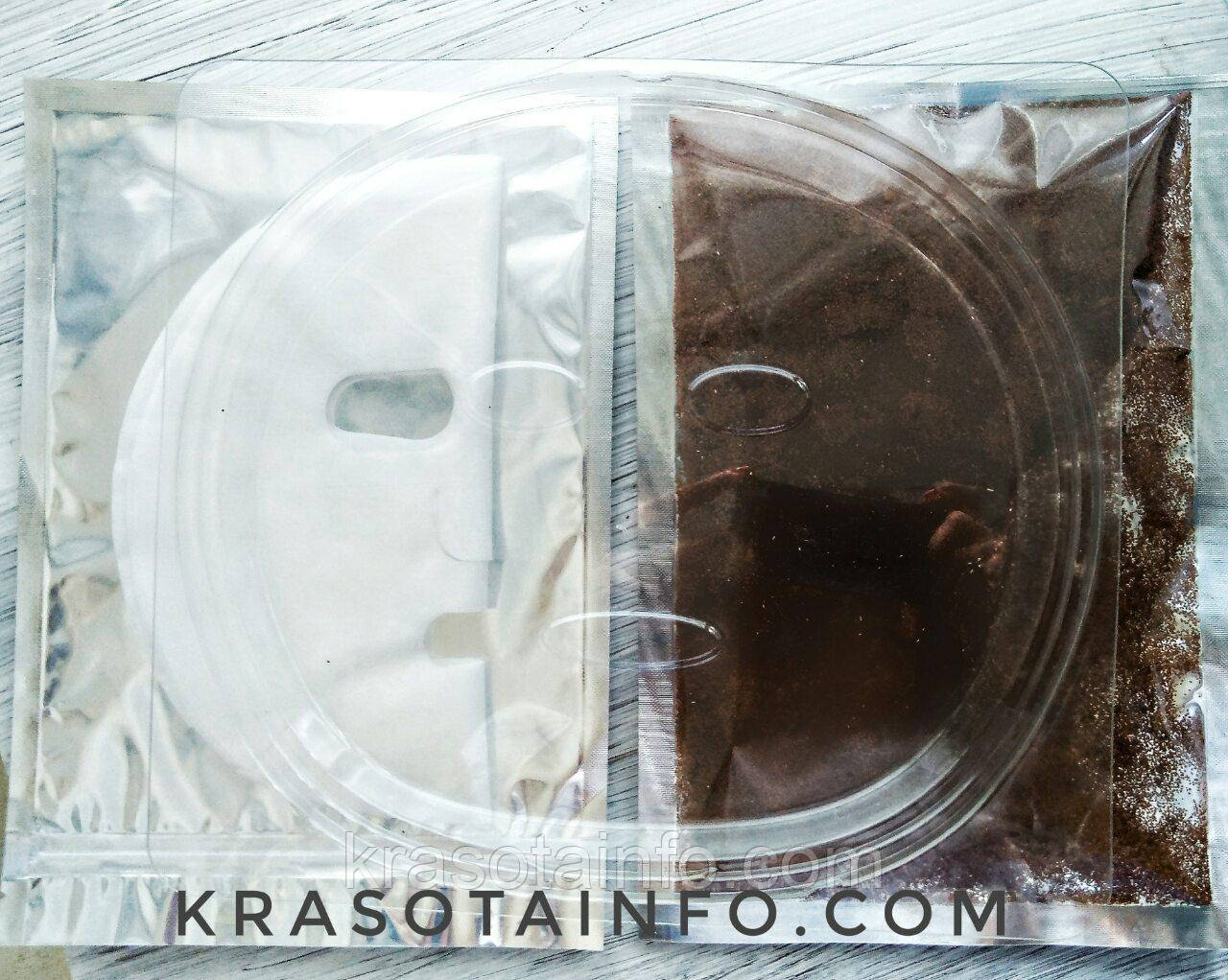 Seaweed Mask маска из семян бурых морских водорослей на тканевой основе, набор 15 шт масок + форма, 150 г