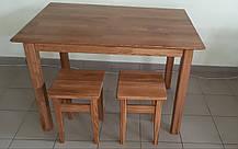 Комплект обеденный Стелла ( стол + 4 табуретки ) ДУБ
