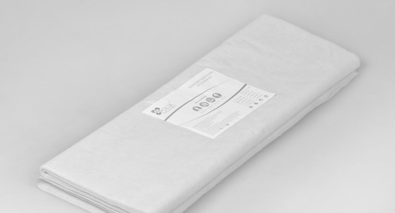 Пеленки одноразовые 0,5*0,6 м Polix PRO&MED со спанбонда 25г/м2 (50шт/уп.) 500 ШТ 10 УП Белые