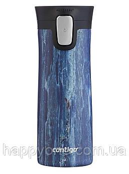 Термокружка из нержавеющей стали Contigo Couture (420 мл) Blue Slate