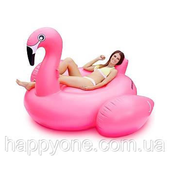 """Надувной матрас """"Фламинго Pink"""" (190 см)"""