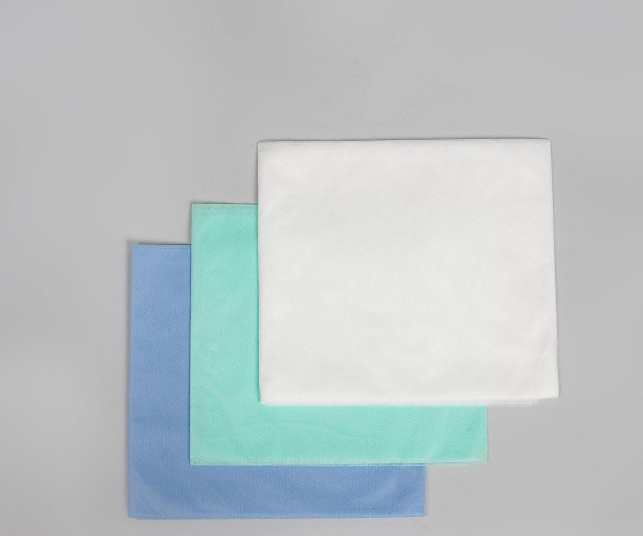 Пеленки одноразовые 0,8*1,0 м Polix PRO&MED со спанбонда 25г/м2 (10шт/уп.) Белые