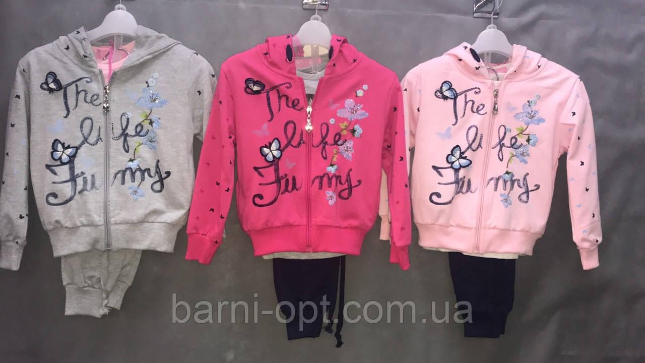 Спортивный костюм для девочек оптом, Setty Koop, 4-12 рр