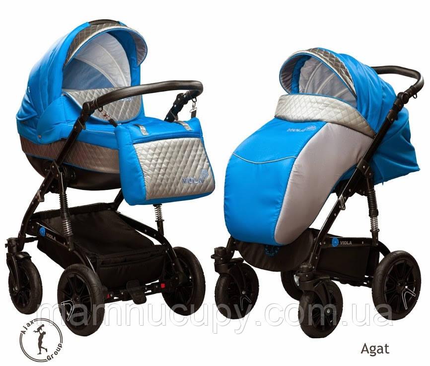 Детская универсальная коляска 2 в 1 Ajax Group Viola Pacific