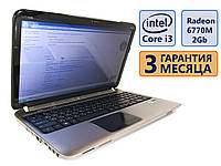 Ноутбук HP dv6-6b51er 15.6 (1366x768) / Intel Core i3-2330M (2x2.2GHz) / Radeon HD 6770M/RAM 4Gb / HDD 500Gb / АКБ 1 ч. 5 мин. / Сост. 9/10 БУ