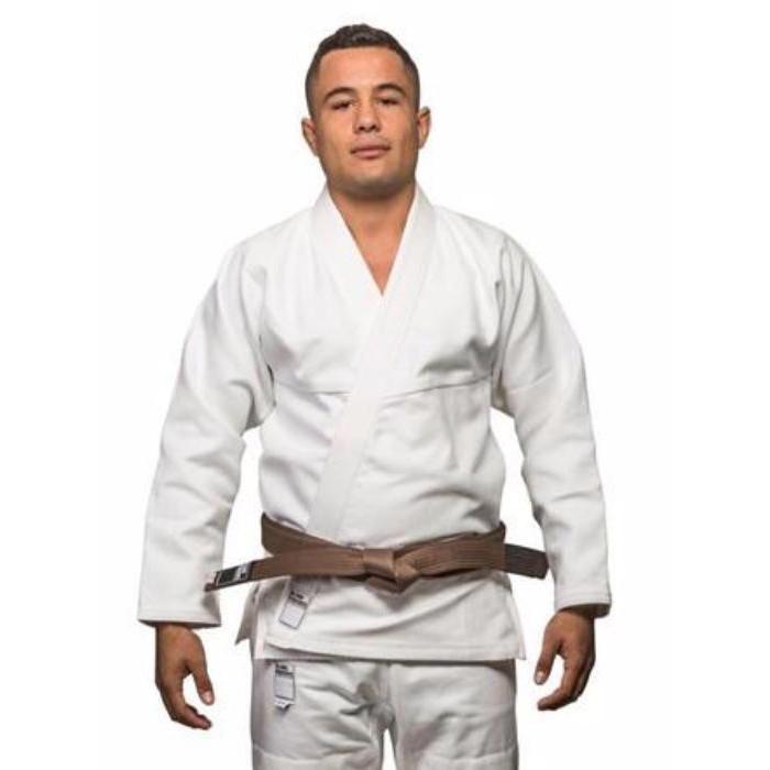 Кимоно для Бразильского Джиу-Джитсу Blank Kimonos Gold Weave Белое