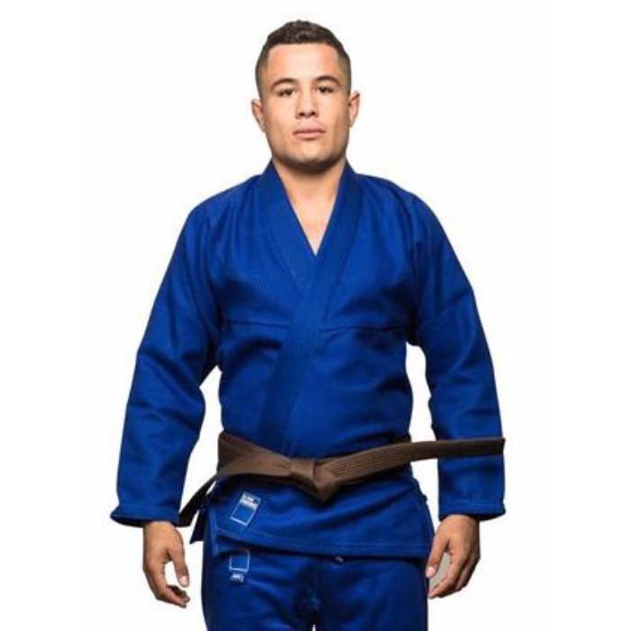 Кимоно для Бразильского Джиу-Джитсу Blank Kimonos Gold Weave Синее