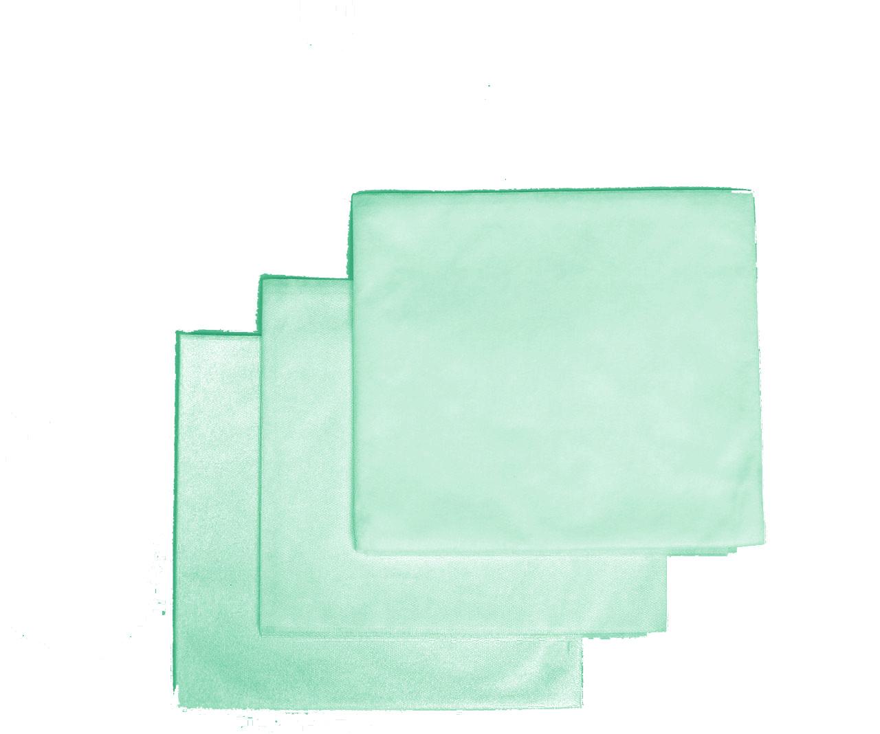 Пеленки одноразовые 0,8*1,0 м Polix PRO&MED со спанбонда 25г/м2 (50шт/уп.) 500 ШТ 10 УП Мятные