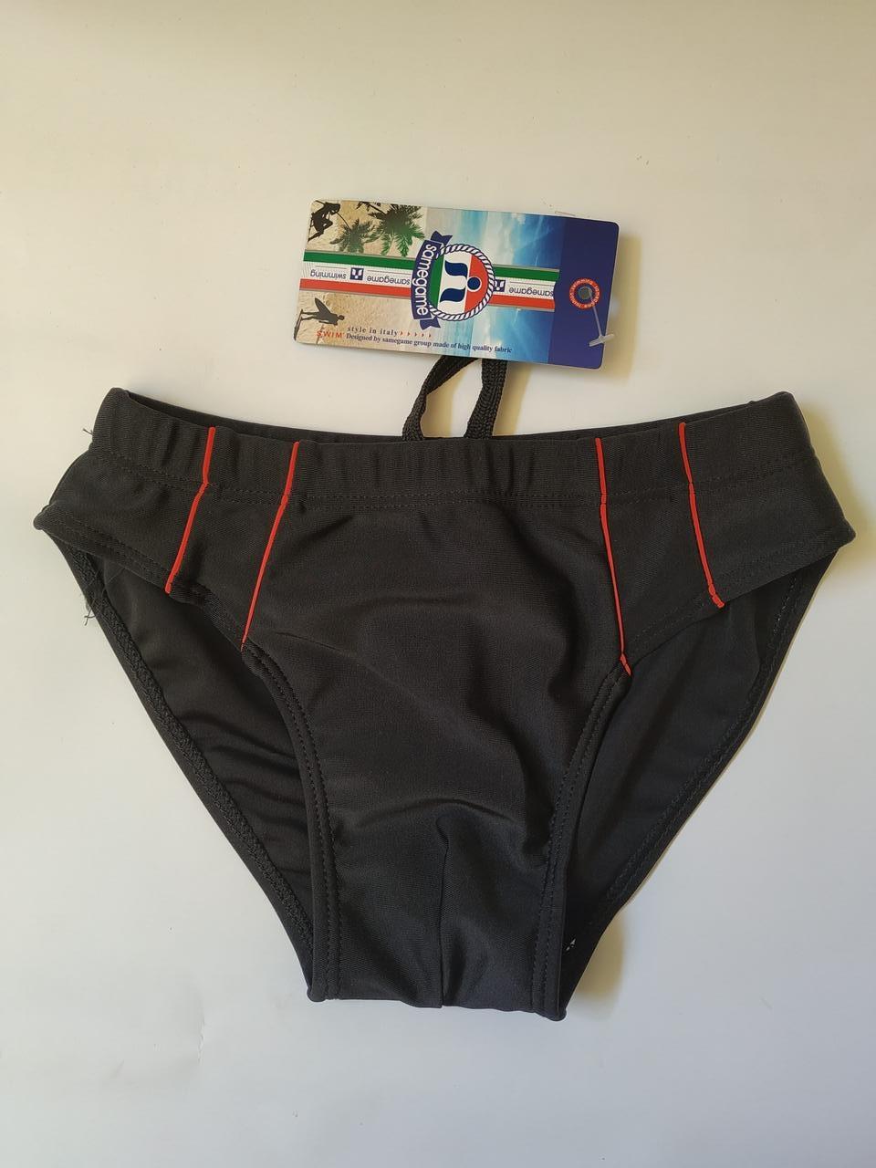 Плавки-шорты подросток SAME GAME 4132 черный (есть 38 40 42 44 46 размеры)
