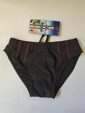 Плавки-шорты подросток SAME GAME 4132 черный (есть 38 40 42 44 46 размеры), фото 2