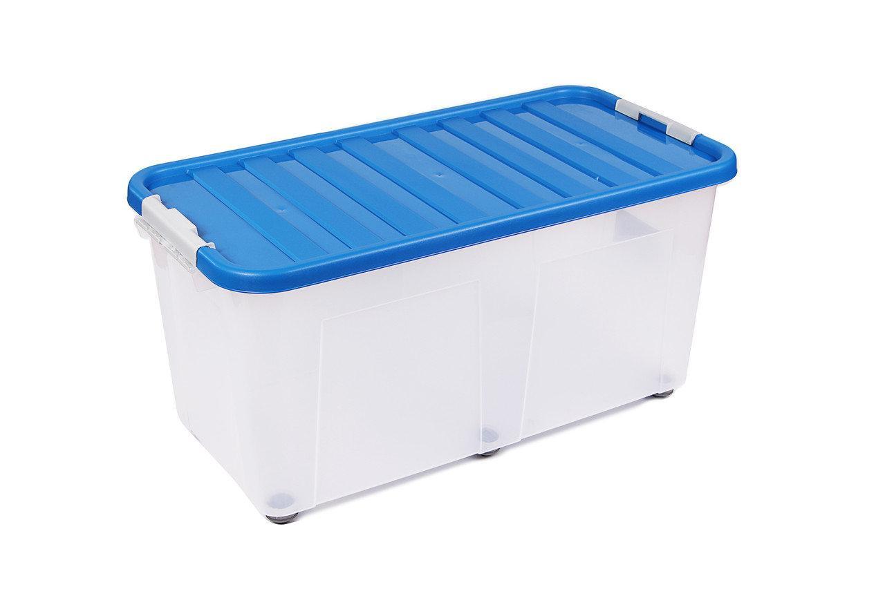 Ящик для хранения пластиковый Heidrun ClipBOX 100л, 80*40*40см
