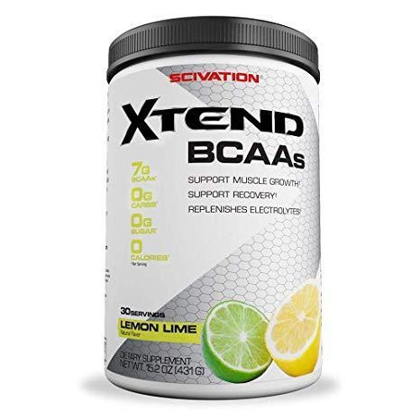 БЦАА Scivation  BCAA Xtend (420 г) икстенд скайвейшн lemon lime