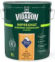 Пропитка для дерева с биозащитой Импрегнат Vidaron (V02 золотая сосна) 9 л