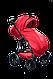 Детская универсальная коляска 2 в 1 Ajax Group Либідь Pacific, фото 4