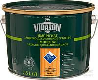 Пропитка для дерева с биозащитой Импрегнат Vidaron (V03 белая акация) 2,5 л