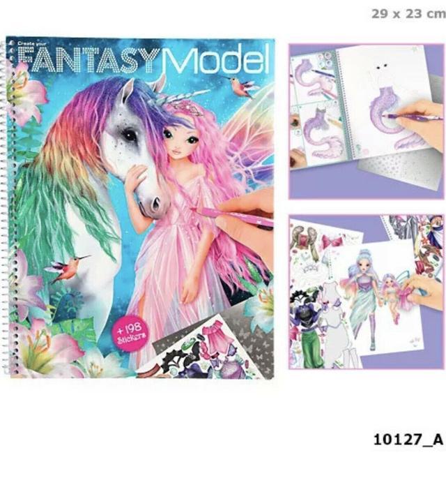 TOP-Model Книга для дизайну, Альбом для творчества ТОП Модель