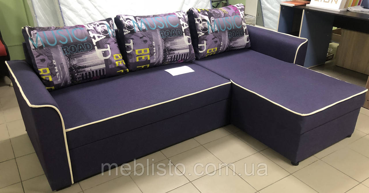 Кутовий диван Омега м'які меблі за доступною ціною