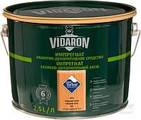 Пропитка для дерева с биозащитой Импрегнат Vidaron (V04 грецкий орех) 2,5 л