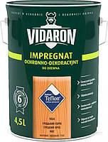 Пропитка для дерева с биозащитой Импрегнат Vidaron (V04 грецкий орех) 4,5 л