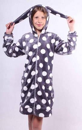 Детский махровый халат с ушками, фото 2