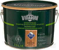 Пропитка для дерева с биозащитой Импрегнат Vidaron (V05 тик натуральный) 2,5 л