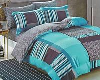 """Комплект постельного белья """"Нефрит 2"""" семейный размер"""