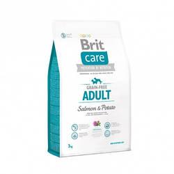 Корм Brit Care GF Small and Medium Salmon Брит Кеа для собак дрібних і середніх порід з лососем3 кг