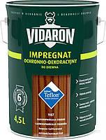 Пропитка для дерева с биозащитой Импрегнат Vidaron (V07 калифорнийская секвоя) 4,5 л