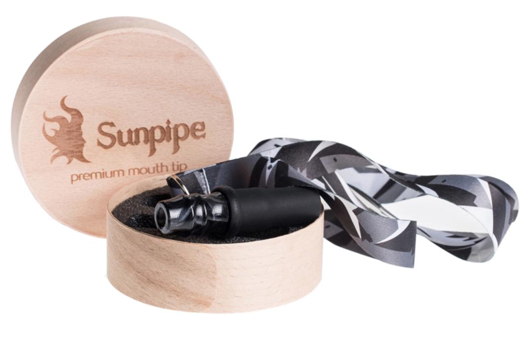 Персональный мундштук Sunpipe, Санпайп Premium Mini Black (на ленте)