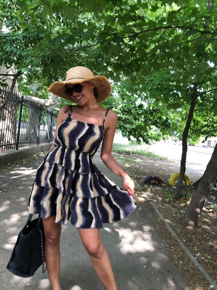 Платье летнее женское открытые плечи