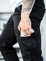 Карго брюки BEZET Basic black' 19