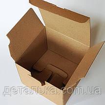 Картонные коробки с перегородками 169*169*119 мм., фото 3