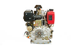 Двигатель WEIMA(Вейма) WMC 188FBE - S(шпонка, дизель 12л.с.) с электростартером, фото 3