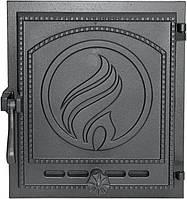 Дверка печная Plomien 370x330, фото 1