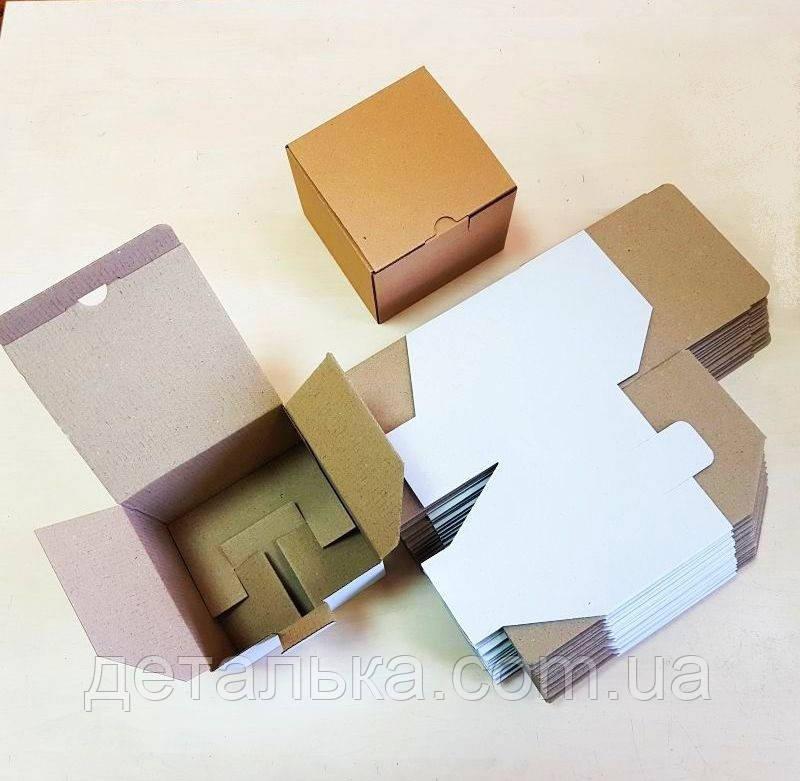 Картонные коробки 130*130*110 мм.