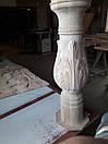 Нога для столу, ясень, фото 2