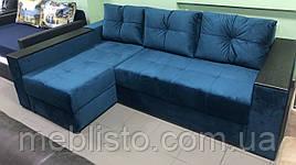 Угловой диван Фаворит 2.45 на 1.55