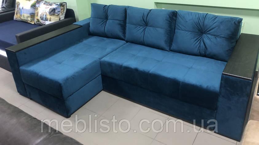 Кутовий диван Фаворит 2.45 на 1.55, фото 2