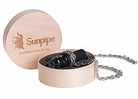 Персональный мундштук Sunpipe, Санпайп Premium Mini Black (на цепочке), фото 1