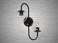 Настенный светильник «Молекула» в стиле лофт&356-2CL